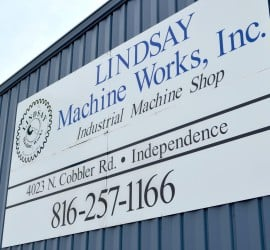 Lindsay Machine Works Industrial Machine Shop